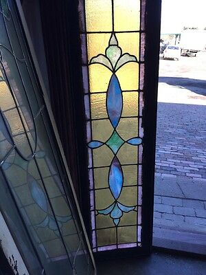 Sg 513 Antique Pastel Color Transome Stainglass Window