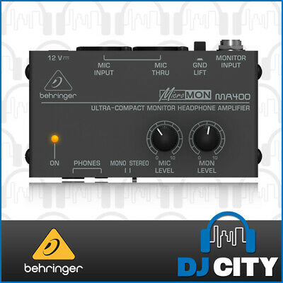MA400 Behringer Headphone Monitor Amp - BNIB - DJ City Australia