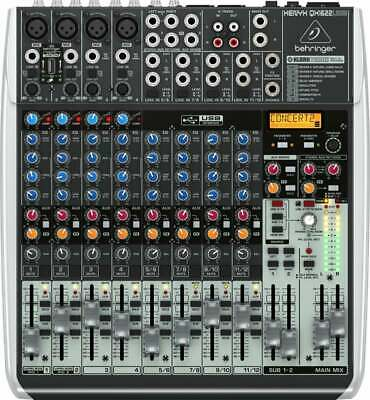 QX1622USB Behringer 16 Channel PA Mixer with Digital FX