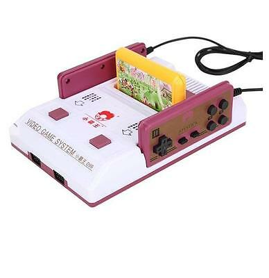 8 Bit Video TV Classic Game Console D99 with 2 Game Player Controllers Nes Card