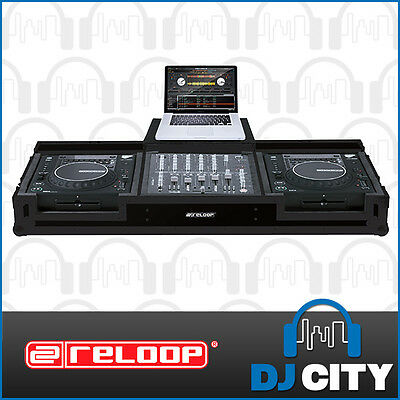 CDM-Case Reloop Professional DJ Console Roadcase with Laptop Shelf