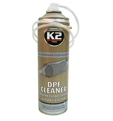 K2 DPF Cleaner Diesel Particulate Filter FAP Regenerator Spray 500ML