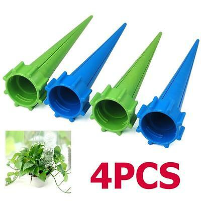4X Automatic Watering Irrigation Spike Plant Flower Drip Sprinkler Garden System
