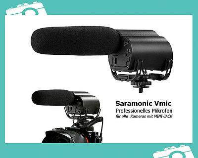 Saramonic Vmic professional Microphone electred condenser f DSLR Kamera Camcorde