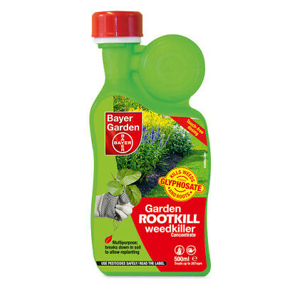 Garden Rootkill Weedkiller Concentrate 500ml Bayer Garden