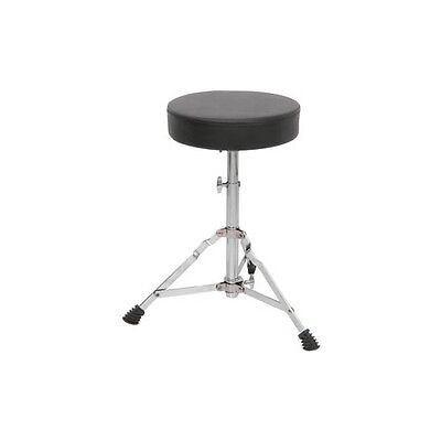 Music Matter Drum Throne Height Adjustable Drummers Stool With Padded Seat