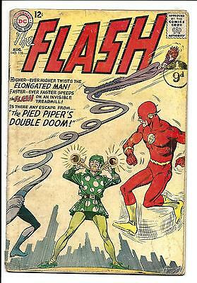 Flash # 138 (Elongated Man & Pied Piper, Aug 1963), Vg