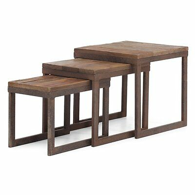 Zuo Modern 98121 Civic Center Nesting Tables (Set of 3)