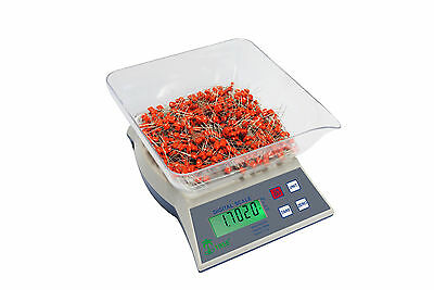 6000 Gram x 1 Gram Digital Scale Jewelry Laboratory Food Scale With Bowl