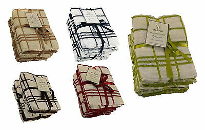 Large Kitchen Towel Egyption Cotton Dish Cleaning Cloth Assosrted color 3 pack