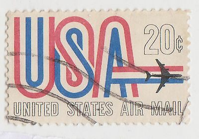 (UST-274) 1968 USA 20c USA air Mail (G)