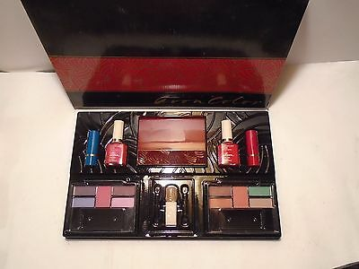 New Vintage Lot 1992 Avon Beauty Extravaganza Eyeshadow Lipstick Brush Plus, Nib