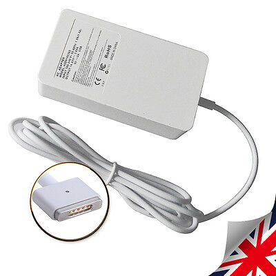 "Adapter Charger for Apple 45W 14.85V 3.05A Macbook Air 11"" 13"" MagSafe2 A1466 UK"