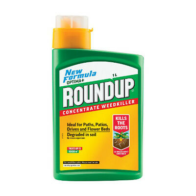 NEW Roundup Optima Weedkiller 1 Litre rrp £45.73 OUR PRICE £34.60