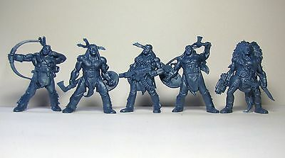 Future Indians 5 figures 54 mm 1:35 Russian toy soldiers Tehnolog