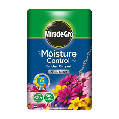 Miracle-Gro Moisture Control 50L x 2