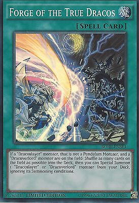 Yu-Gi-Oh: Forge Of The True Dracos - Super Rare - Bosh-Ense4 - Limited Edition