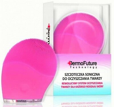 DermoFuture Technology ELECTRIC SONIC FACE CLEANING BRUSH all skin types NEW!!!