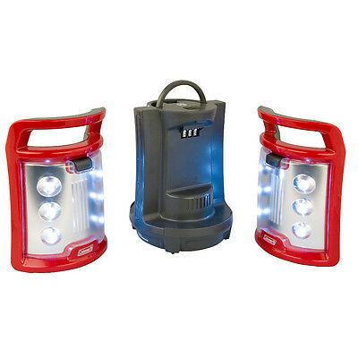 Coleman CPX 6 LED Camping Lantern 2-in-1 Duo Lamp Light Battery Powered