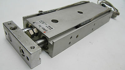 SMC Compact Pneumatic Guided Cylinder CXSM20-100 with reed Switches