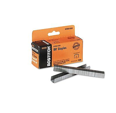 BOSSTCR211538-Stanley Bostitch - B8 Powercrown Staples, 3/8 Inch 5,000/Box