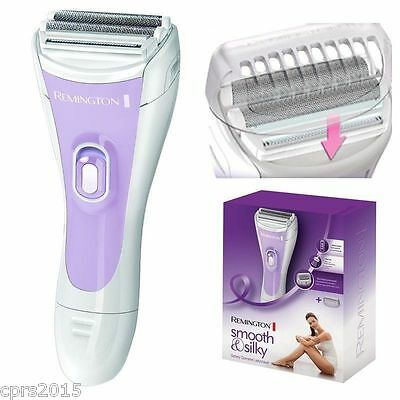 Remington WDF4815C Double Foil Wet & Dry Battery Operated Ladies Shaver