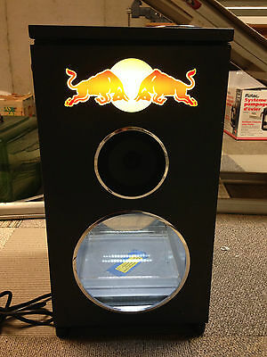 Red Bull Mini Fridge Dj Speaker Cooler Refrigerator
