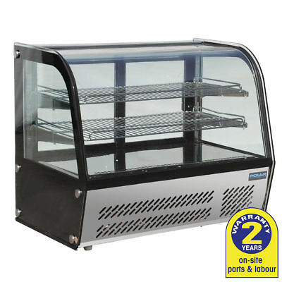 Cold Food Display, Refrigerated Counter Top, Polar, Cakes, Sandwich, 100 Litres