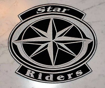 STAR RIDERS XL PATCH Aufnäher Parche brodé patche toppa ROYAL DRAG MIDNIGHT ROAD