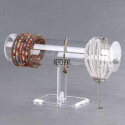 Hot Acrylic Retail Shop Organizer Display Stand Holder Bangle Bracelet Watch