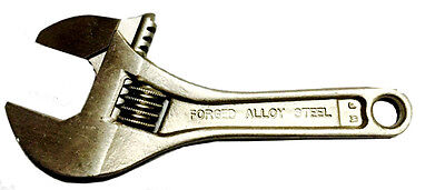 NAPA Heavy Duty 4 Inch Adjustable Wrench Made In U.S.A & FREE SHIPPING!