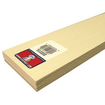 Basswood Sheet 0.08 x 7.62 cm Woodworking Carving Model Projects Cut Painting