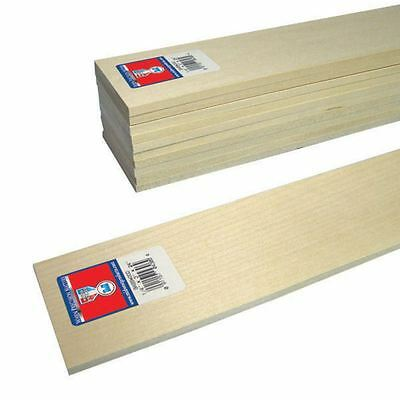 Basswood Sheet 0.6 x 7.62 cm Woodworking Carving Model Projects Cut Painting