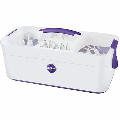 Wilton Decorator Preferred Tool Caddy Cake Decorating Adjustable Dividers