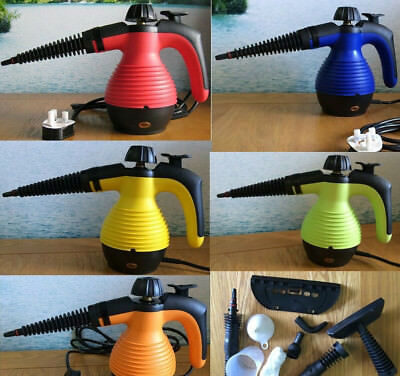Electric Portable Steam Cleaner Hand Held Cleaning Set 1000W plus Accessories