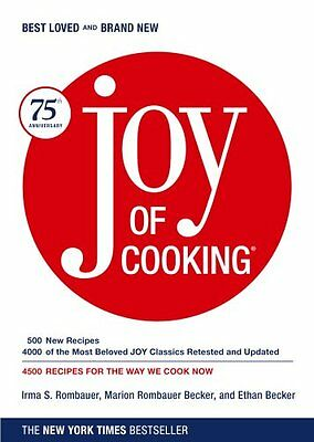 Joy of Cooking  by Irma S. Rombauer (Hardcover) BRAND NEW FREE SHIPPING