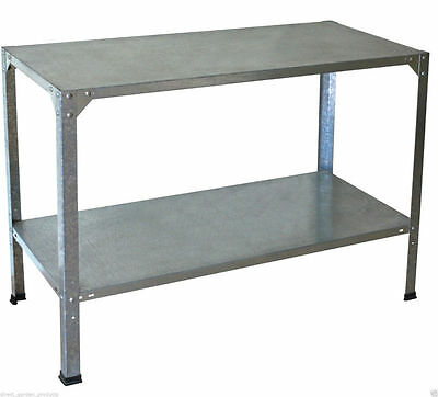 Palram Staging Steel Potting Table Workbench Garden Greenhouse Shed Bench New