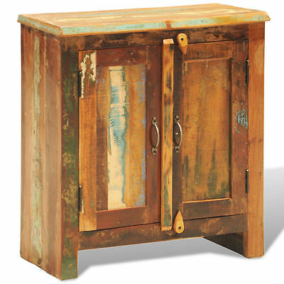 Antique Style Cabinet Wooden Bedroom Storage Cupboard Vintage Look Furniture