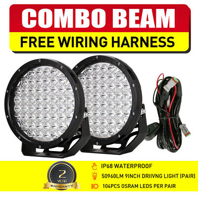 9inch 1530W NEW CREE LED Work Driving Lights Spot light Offroad HID VS 555W