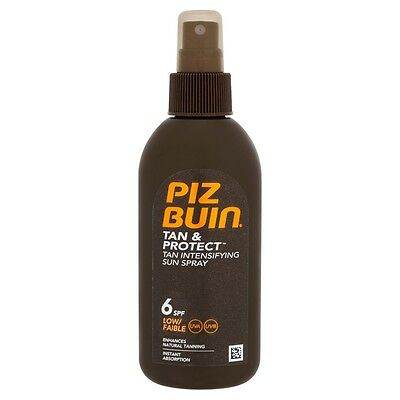 Piz Buin Tan & Protect Tan Intensifier Sun Spray SPF 6 150ml
