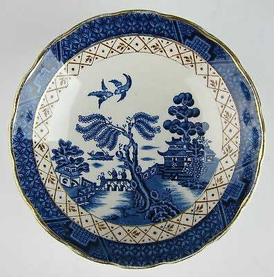 Booths China REAL OLD WILLOW Fruit and Dessert Bowl (Scalloped)(s)