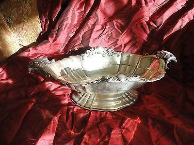 Silver 800 Decorated Vase Italian