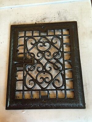 Antique Heating Grate Face Tc 55