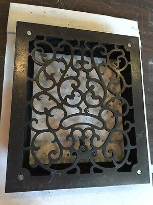 Antique Heating Grate Ornate No Fins Tc 62