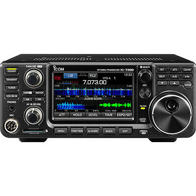 Icom IC-7300 100W Touchscreen HF/50MHz Transceiver