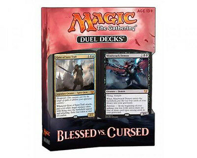 MTG Magic the Gathering DUEL DECKS Blessed vs. Cursed INGLESE