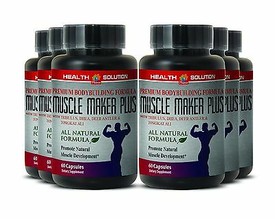 Athlete Capsules - MUSCLE MAKER PLUS - Sexual Health - Lean - 6Bot 360Ct