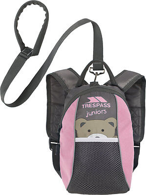 Trespass Mini Me Toddlers 3L Backpack Bag with Safety Rein