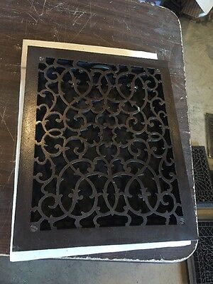 Antique Oversized Heating Grate unique Ornate Odd Size Tc 71