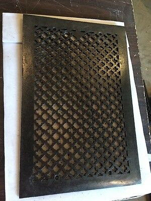 Antique Oversized Grate Top Ornate Tc 72